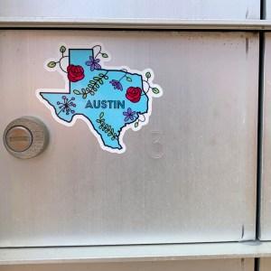 Austin, Texas Sticker