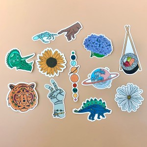 cute aesthetic sticker pack
