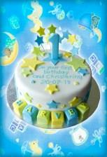 1st Birthday / Christening Cake