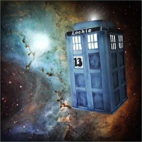Dr Who Tardis 3D