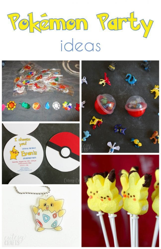 Pokemon Birthday Party Invitations With Free Silhouette