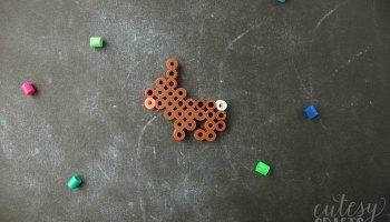 Dolphin Perler Bead Pattern - Cutesy Crafts