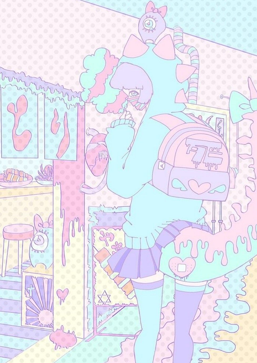 Hd wallpapers and background images. 25 Solid Anime Pastel Wallpaper Pics Anime Wallpapers