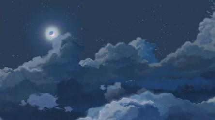 Blue Anime Aesthetic Wallpaper 4k Anime Wallpaper HD