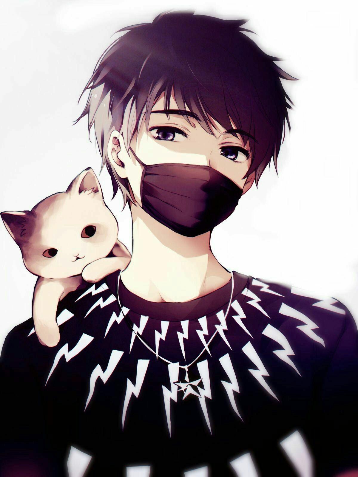Hoodie Cute Anime Boy Drawing : hoodie, anime, drawing, Handsome, Anime, Hoodie, Wallpaper