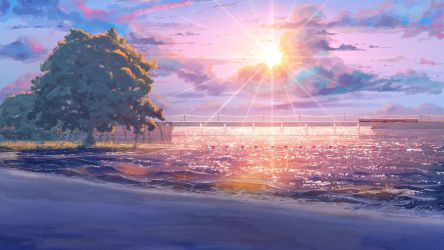 Anime Nature Scenery posted by Christopher Walker
