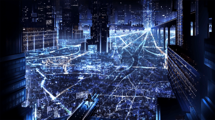 Anime Night City Background posted by Samantha Anderson