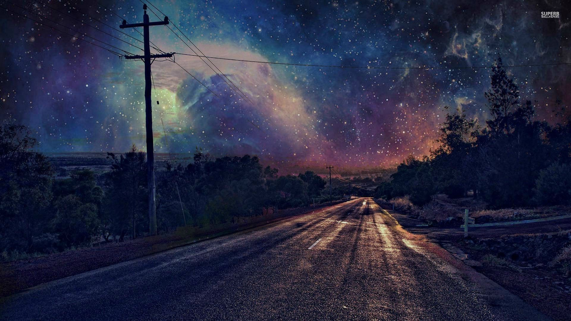 Download and use 40,000+ desktop wallpaper aesthetic stock photos for free. Blue Starry Sky Aesthetic Wallpapers posted by John Walker