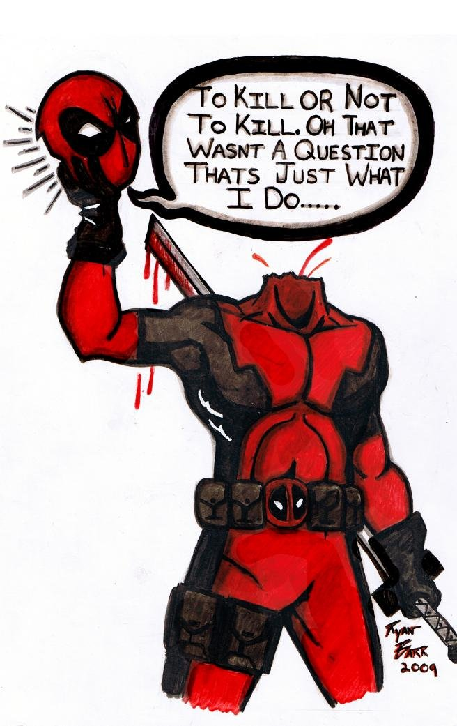 Cool Deadpool Drawings : deadpool, drawings, Deadpool, Drawings, Www.imghulk.com