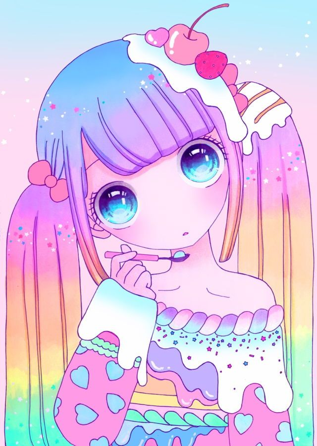 Kawaii Cute Anime Unicorn Girl : kawaii, anime, unicorn, Kawaii, Unicorn, Anime, Wallpaper