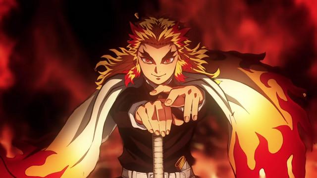 Kimetsu no yaiba 4k wallpaper and background image. Demon Slayer Wallpaper Fire - Anime Wallpaper HD