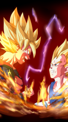 Dragon Ball Z Lock Screen posted by Zoey Sellers