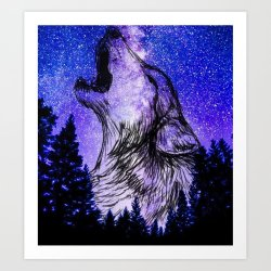 Galaxy Wolf Pictures posted by Christopher Tremblay