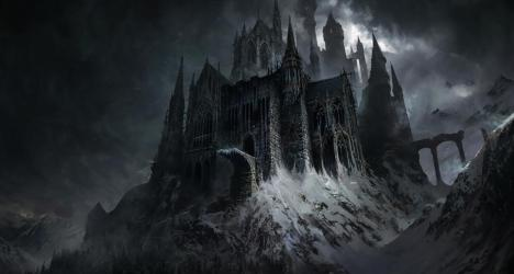 Gothic Castle Wallpaper posted by Ryan Cunningham