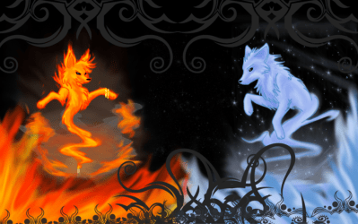 Ice Wolf Wallpapers posted by Zoey Simpson