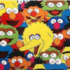 Kaws X Sesame Street Wallpapers posted by John Simpson
