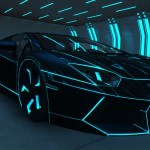 Lamborghini With Neon Lights Posted By Christopher Walker