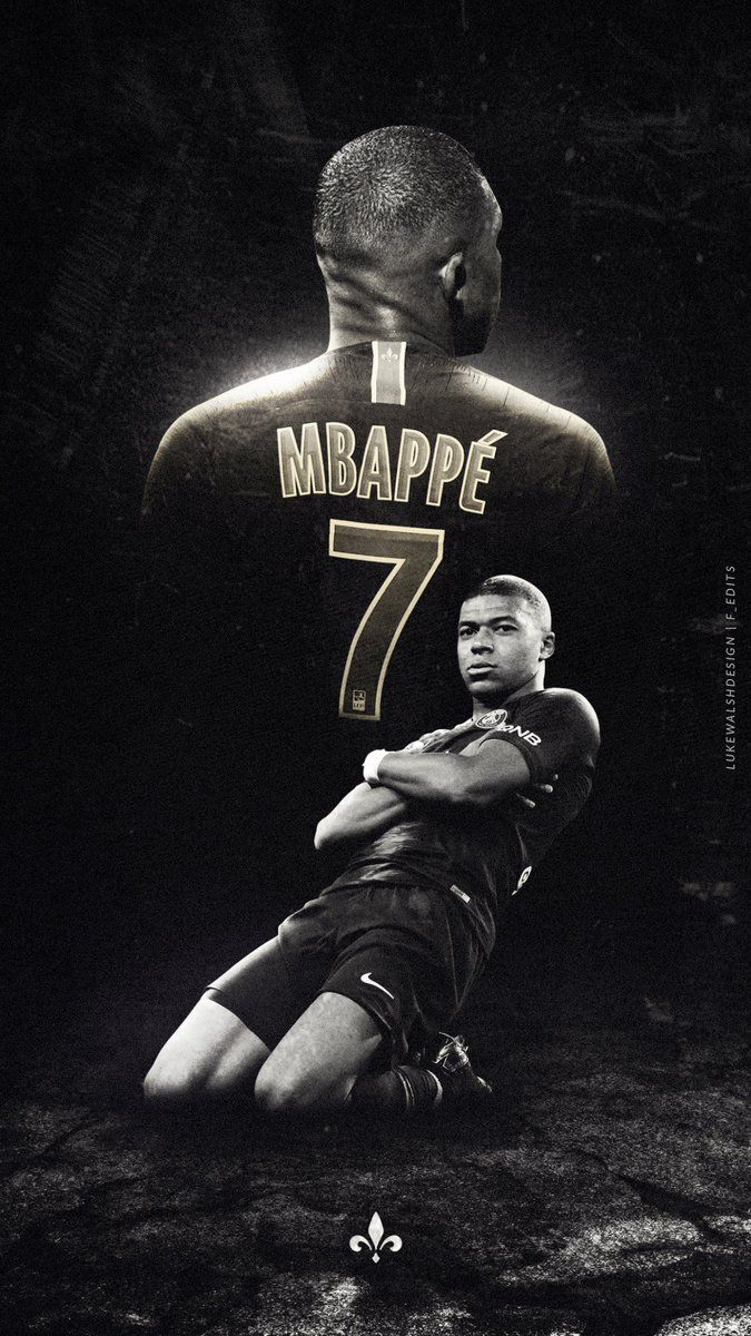 mbappe wallpaper posted by ethan anderson
