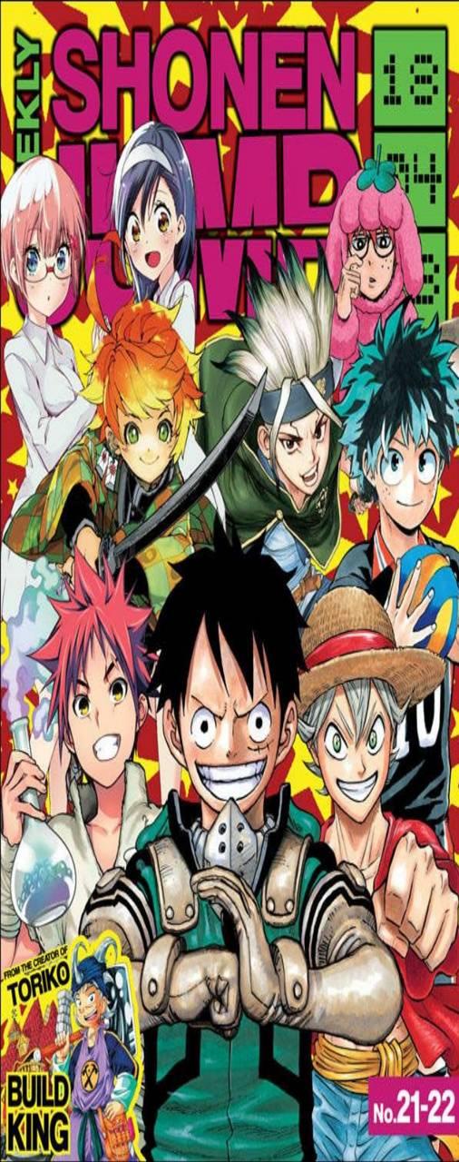 Wallpaper Shonen Jump : wallpaper, shonen, Shonen, Demon, Slayer, Wallpaper, Anime