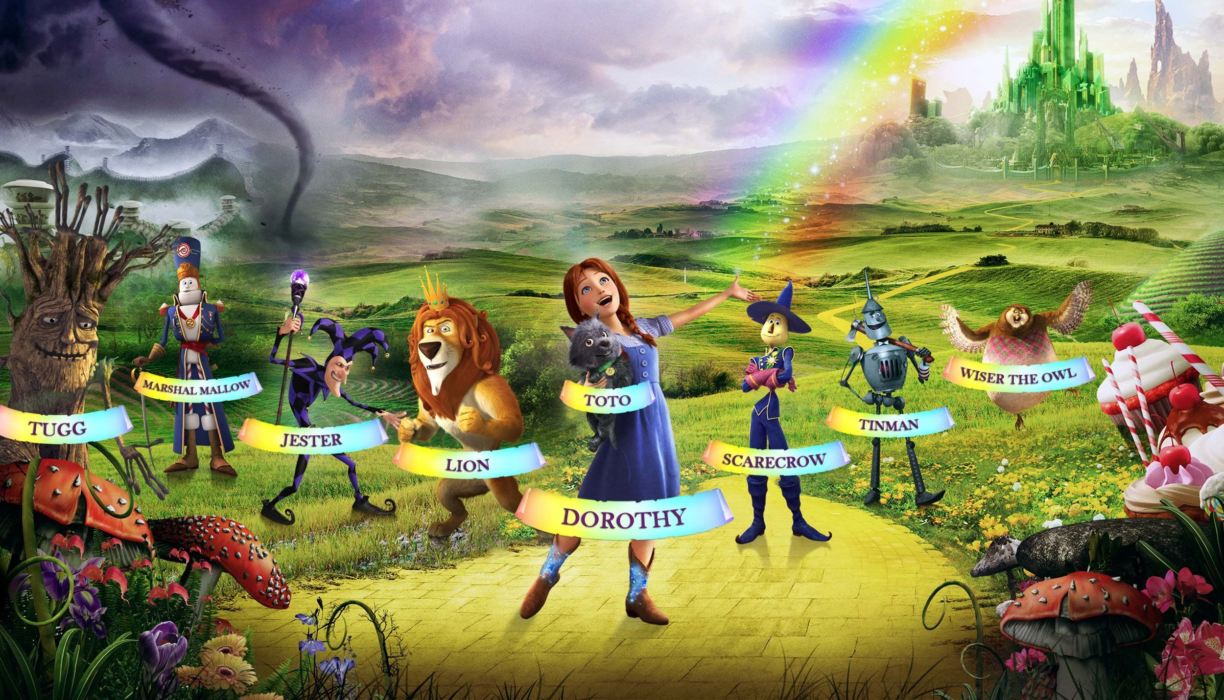 pic Wizard Of Oz Wallpaper the wizard of oz wallpaper posted by