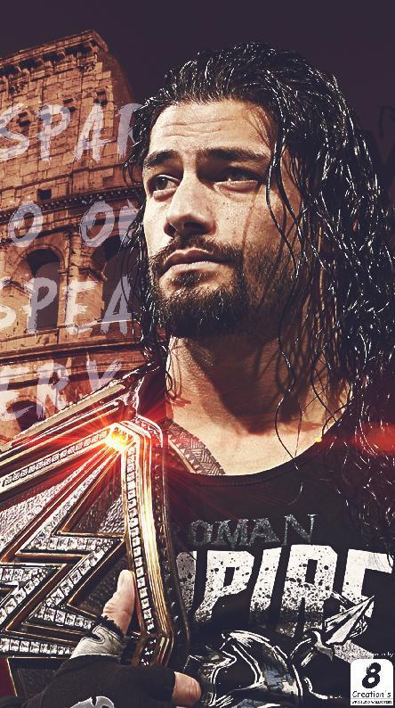 wallpaper roman reigns posted by