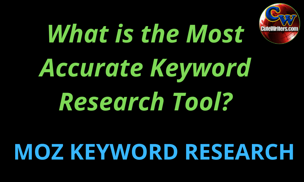 the most accurate keyword search volume tool