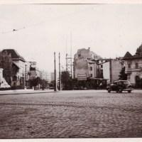 1937. Piaţa Romană, blocul Paladium în construcţie.