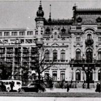 1937. Palatul Ministerului de Externe (Palatul Sturdza) și Palatul Victoria.