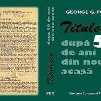 Titulescu. După 50 de ani din nou Acasă - avanpremieră editorială