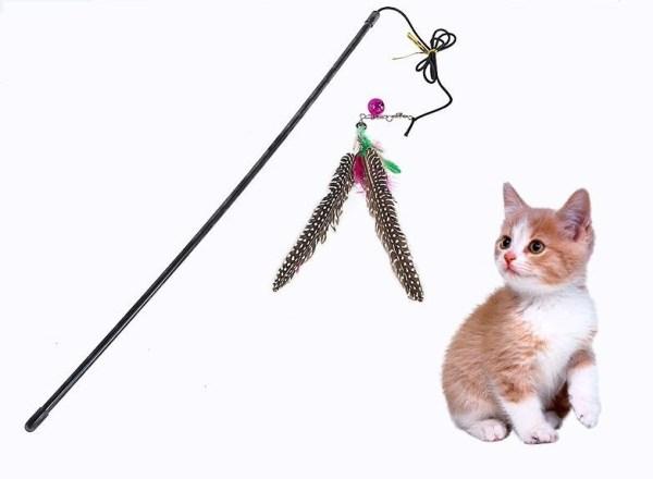 Kattenspeelgoed Hengel met belletje