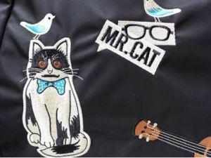 Mr. Cat Katten Tote Tas