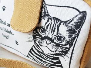Crossbody Katten Tas