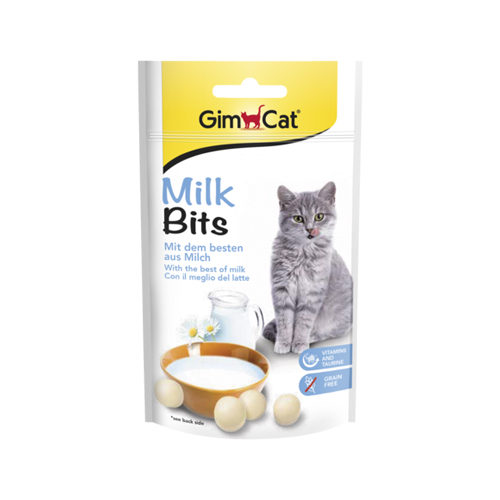 Katten zijn gek op GimCat Milk Bits