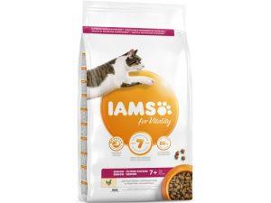 IAMS for Vitality Senior Kattenvoer kip 800g