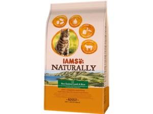 IAMS Naturally Kattenvoer lam en rijst 700g