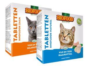 Biofood Knoflook Tabletten voor Katten 100st