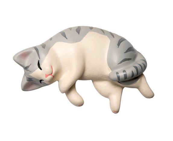 De grijze Katten Koelkastmagneten