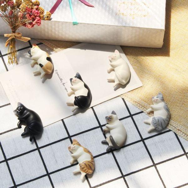 De Katten Koelkastmagneten zijn erg levendig