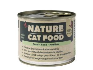 Nature Cat Food – Rund & Eend 200g
