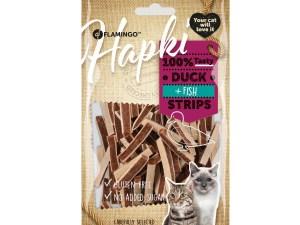 Hapki Duck & Fish Strips 85g