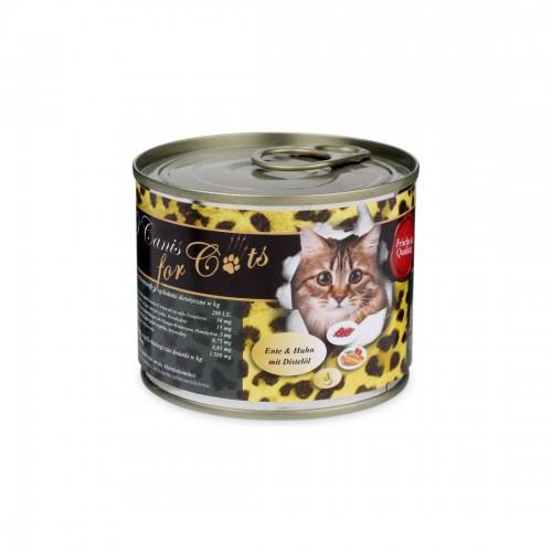 O'Canis Kattenvoer Eend, Kip & Saffloerolie