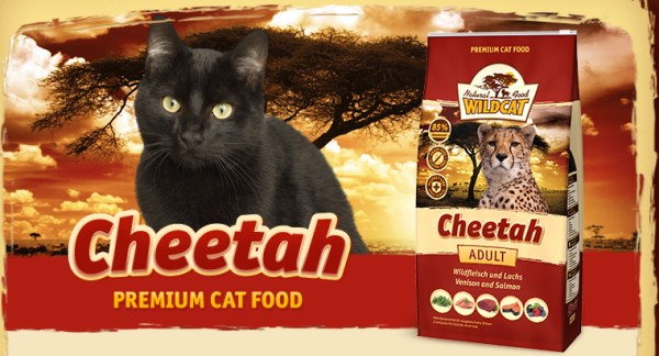 Wildcat Kattenvoer Cheetah met schattige kat