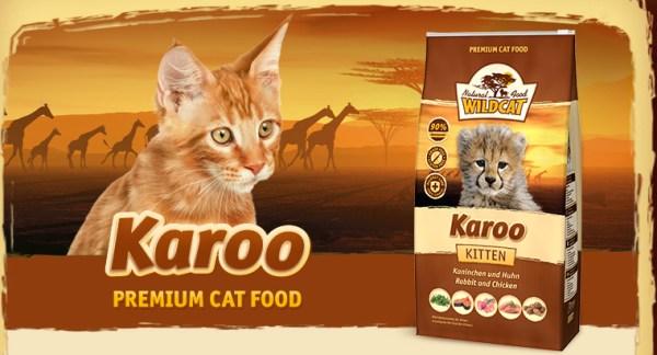 Wildcat Kittenvoer Karoo met 90% vlees