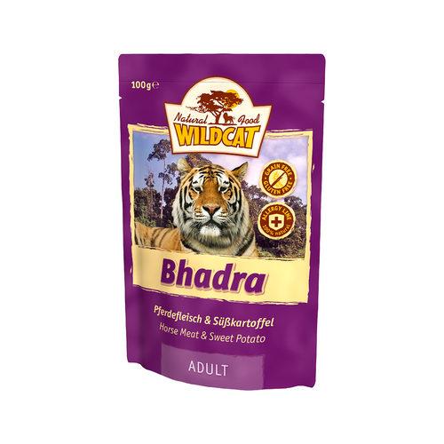 Wildcat Natvoer voor Katten 100g Bhadra (paardenvlees & zoete aardappel)