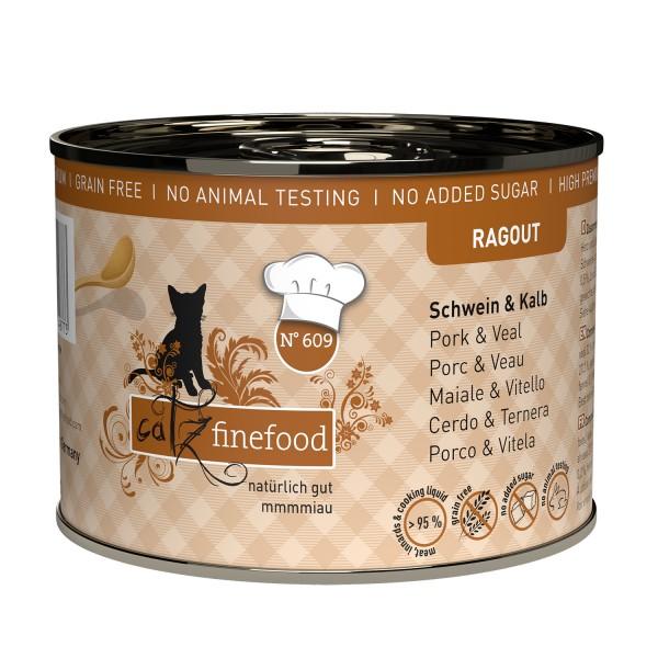 Catz finefood Ragout – N°609 – Varkens & Kalfsvlees