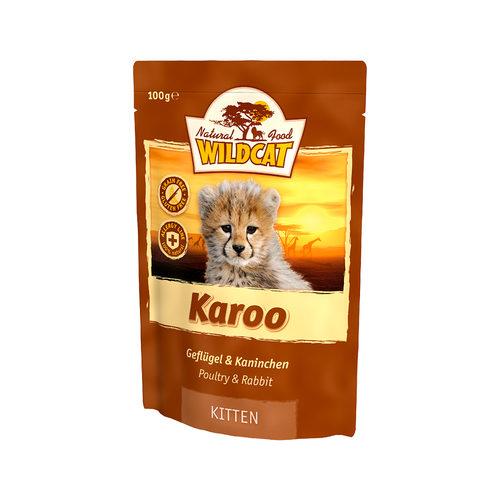 Wildcat Karoo Kitten Natvoer 100g