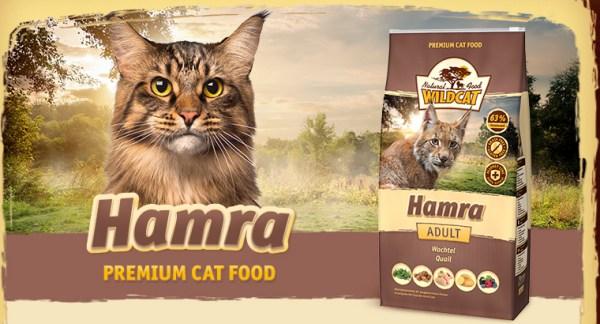 Wildcat Kattenvoer Hamra is goed kattenvoer voor katten met voedselovergevoeligheden