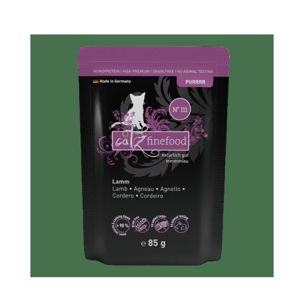 Catz finefood Purrrr N°111 – Lam 85g