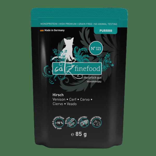 Catz finefood Purrrr N°121 – Hertenvlees 85g