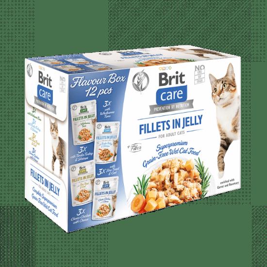 Brit Care Katten Zakjes Multipack filets in gelei